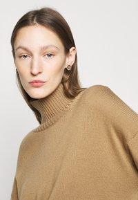 Lauren Ralph Lauren - CREST STUD - Earrings - gold-coloured/brown - 0