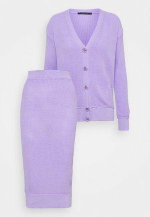 SET - Cardigan - lilac