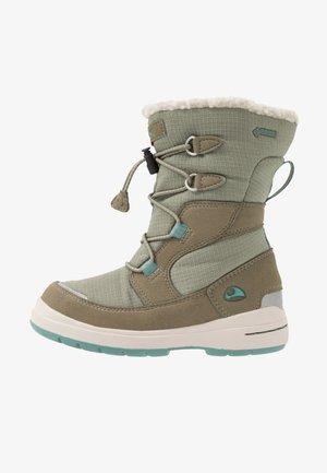 HASLUM GTX - Zimní obuv - olive