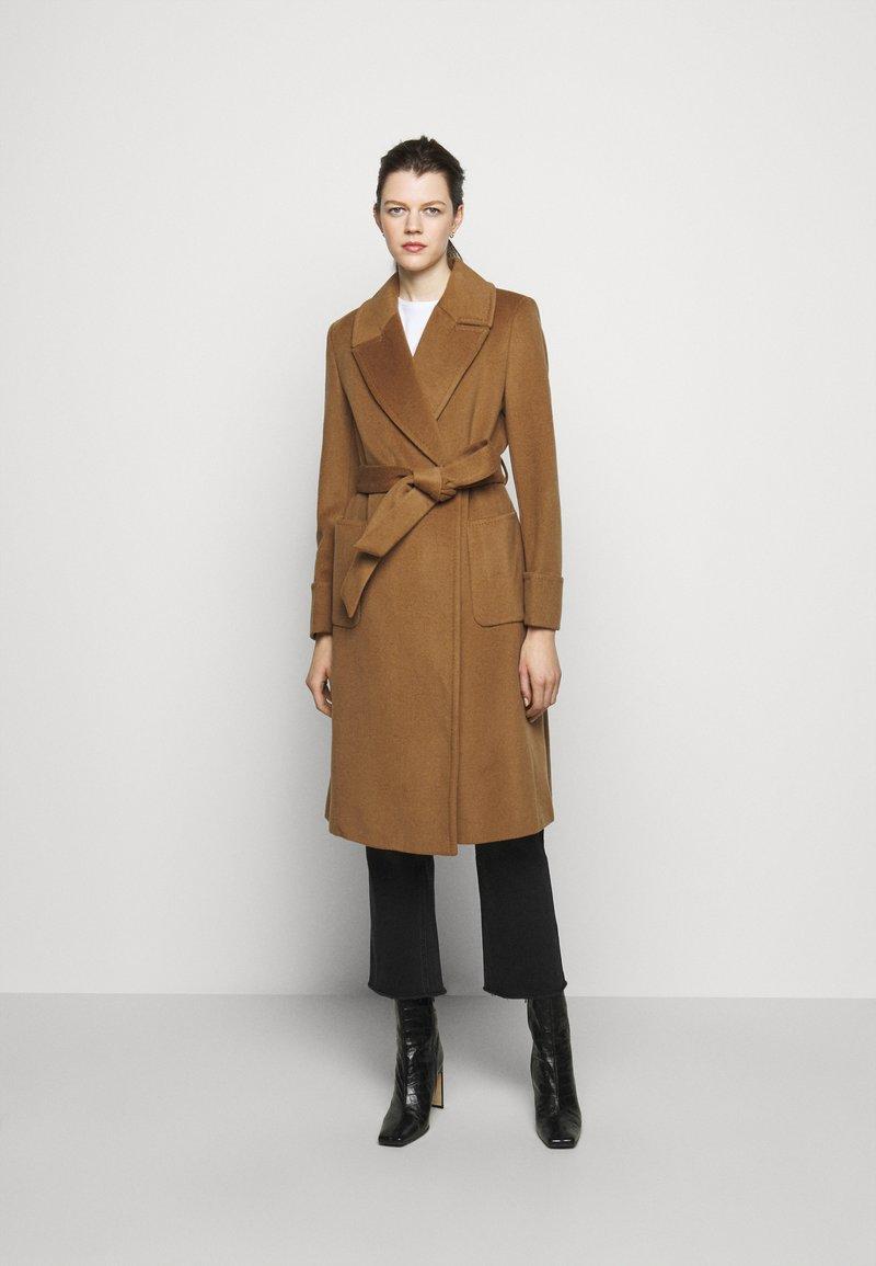 Lauren Ralph Lauren - Płaszcz wełniany /Płaszcz klasyczny - new vicuna