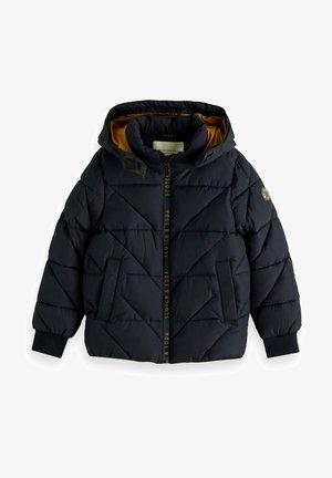 WATER REPELLENT HOODED - Winter jacket - night