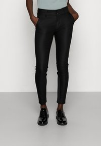 Mos Mosh - BLAKE NIGHT PANT SUSTAINABLE - Pantalones chinos - black - 0