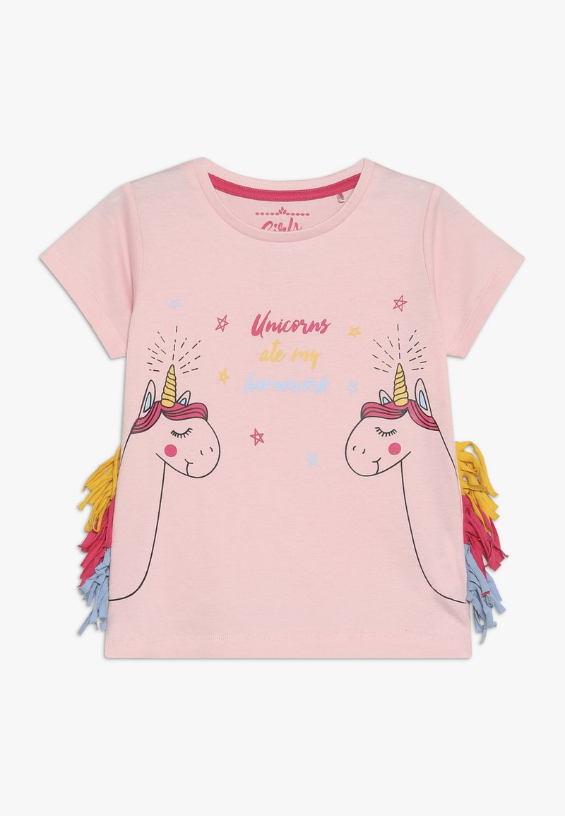 Lemon Beret - SMALL GIRLS - Triko spotiskem - orchid pink