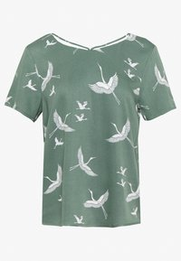 ONLY - ONLALMA LIFE STRING - Blouse - hedge green - 1
