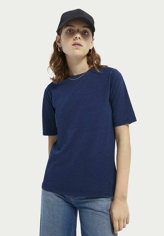 Basic T-shirt - indigo
