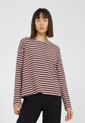 PALINAA  - Long sleeved top - aubergine-kinoko