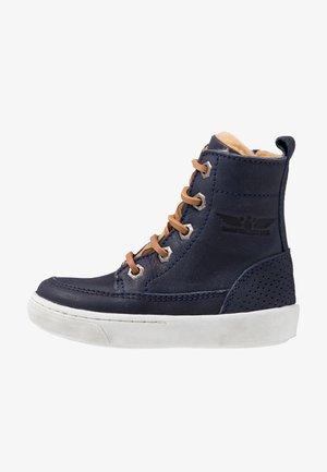 VULCAN - Šněrovací kotníkové boty - marine