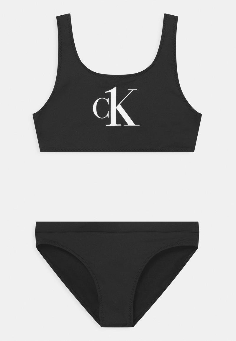 Calvin Klein Swimwear - BRALETTE SET - Bikini - black