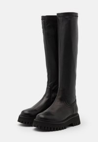 Bronx - GROOVY - Over-the-knee boots - black - 2