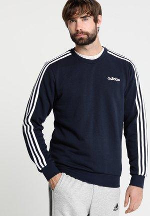 Essentials 3-Stripes Sweatshirt - Sweatshirt - legend ink/white
