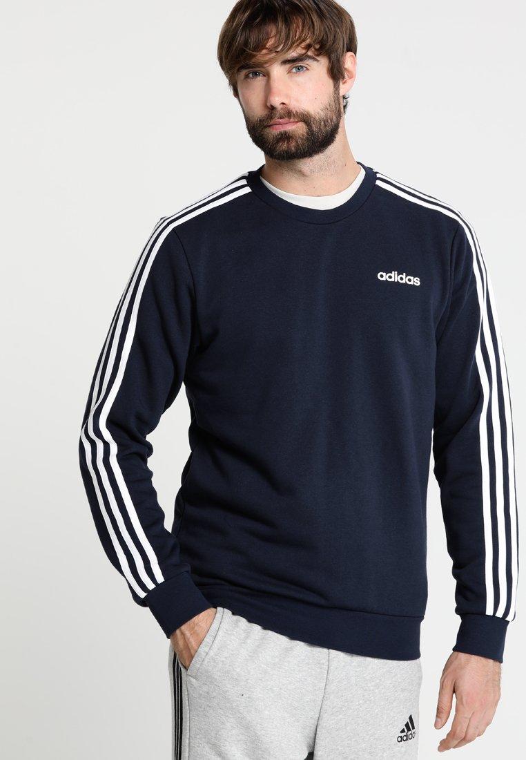 adidas Performance - Essentials 3-Stripes Sweatshirt - Sweatshirt - legend ink/white