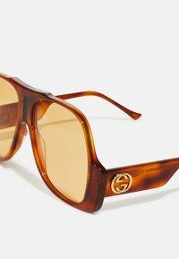 Gucci - UNISEX - Sunglasses - havana/yellow - 2