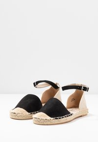New Look Wide Fit - WIDE FIT MAJESTY - Espadryle - black - 2