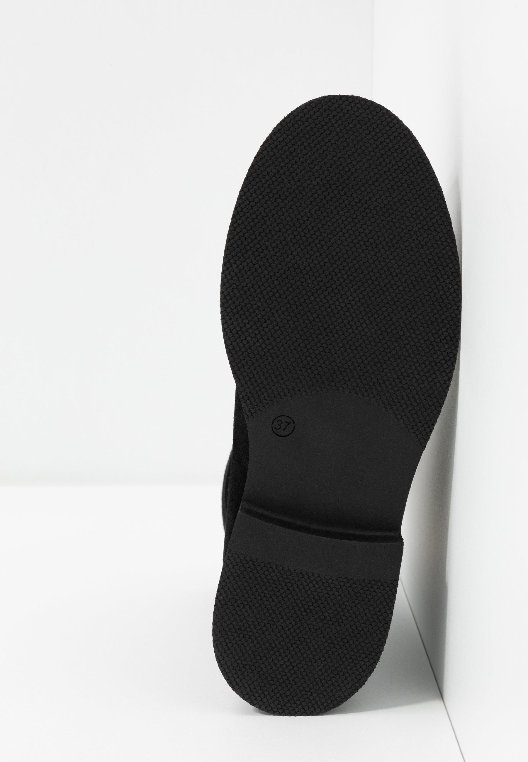 MJUS Plateaustiefelette nero/canella/schwarz