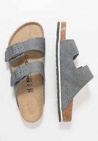 Birkenstock - ARIZONA - Domácí obuv - desert soil/gray - 1
