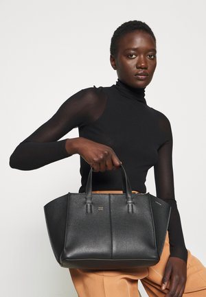 MINI ZIP MULTITUDE TOTE - Handbag - black