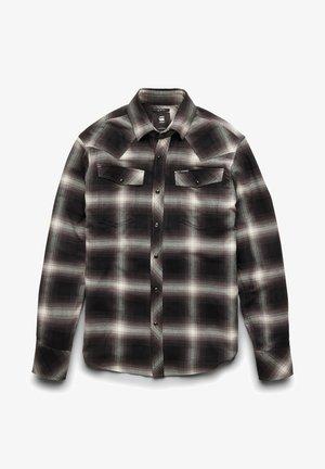 SLIM - Overhemd - dk black