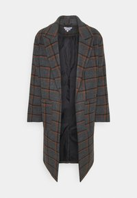Another Influence - BLAKE LONGLINE CASUAL OVERCOAT - Classic coat - charcoal - 4