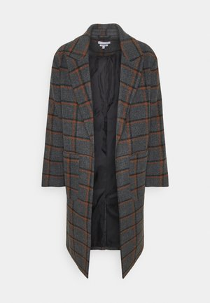 BLAKE LONGLINE CASUAL OVERCOAT - Kappa / rock - charcoal