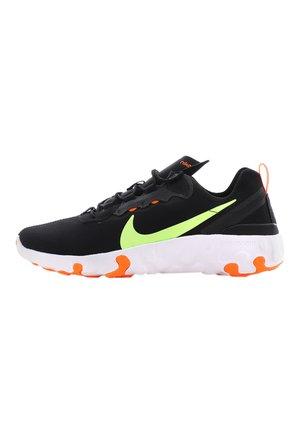 Trainers - black/ghost green-total orange