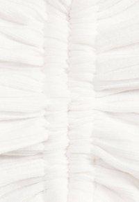 Bershka - Gebreide jurk - white - 5