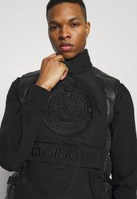 Glorious Gangsta - BAZOR GILLET - Veste - black - 3