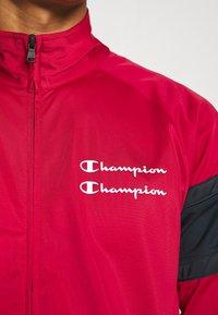 Champion - LA DODGERS TRACKSUITS - Tracksuit - red/dark blue - 5