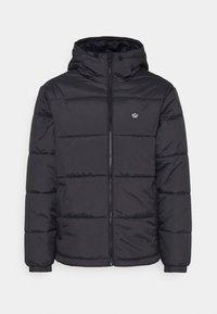 adidas Originals - PAD HOODED PUFF - Kurtka zimowa - black - 6