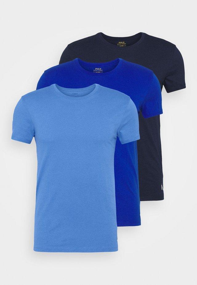 3 PACK - Unterhemd/-shirt - navy/sapphire