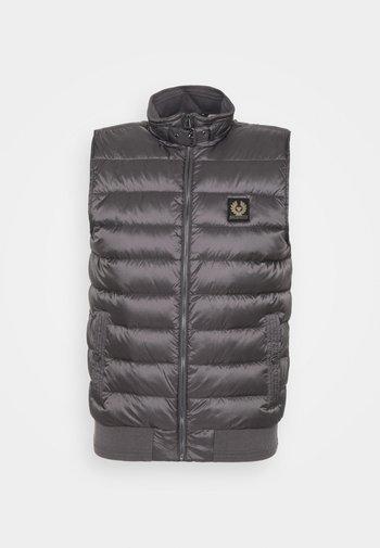 CIRCUIT GILET - Waistcoat - dark granite grey
