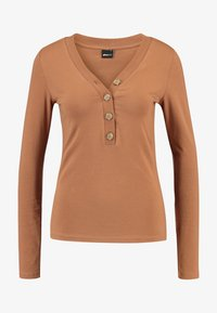 Gina Tricot - EXCLUSIVE - Langærmede T-shirts - toasted coconut - 3