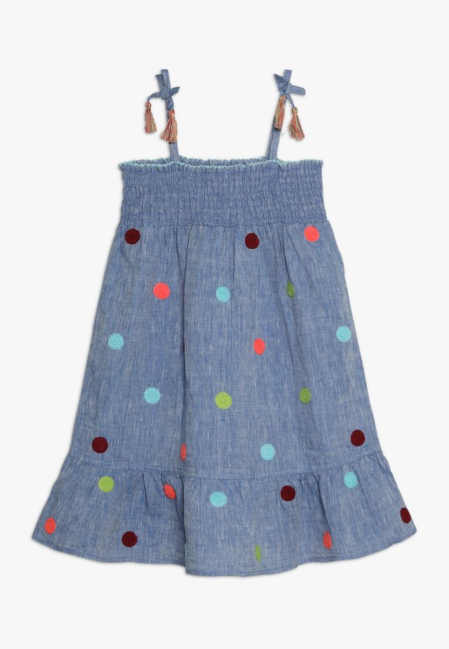 JAIPUR DRESS - Denim dress - cham blue