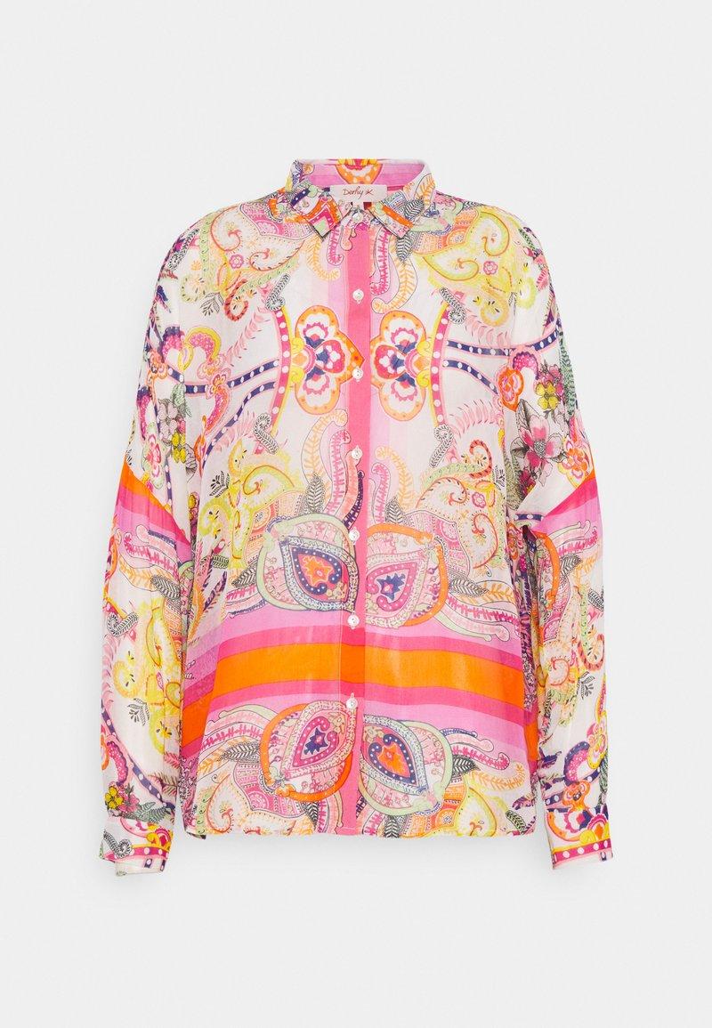Derhy - EDWIGE BLOUSE - Overhemdblouse - pink