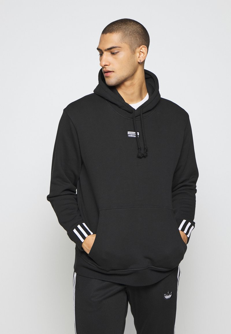 adidas Originals - R.Y.V. MODERN SNEAKERHEAD HODDIE SWEAT - Bluza z kapturem - black