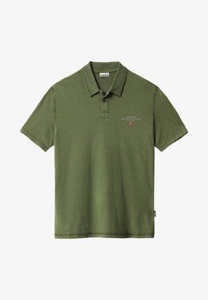 Polo shirt - green cypress