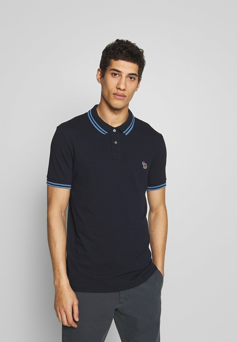 PS Paul Smith - SLIM FIT - Polo shirt - navy