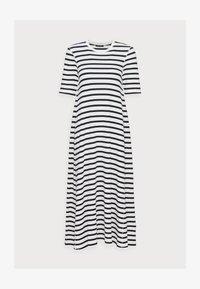 JERSEY DRESS - Jersey dress - multi/dark blue