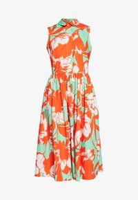 Closet - GATHERED DRESS - Day dress - orange - 5