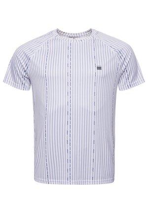 Sports shirt - optic/navy print