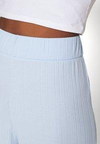 Monki - Trousers - blue - 4