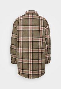 ONLY - ONLELLENE VALDA CHACKET - Summer jacket - balsam green/pink/black - 8