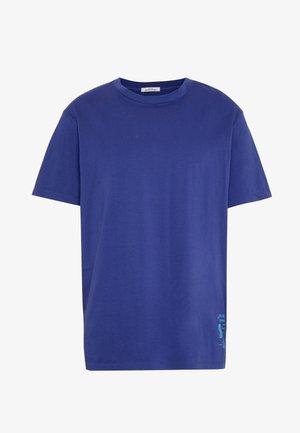 CLASSIC CREWNECK TEE - T-shirt basic - worker blue