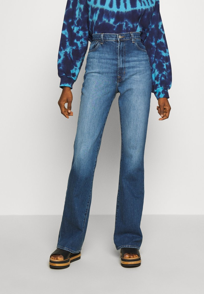 J Brand - RUNWAY HIGH RISE BOOT - Bootcut jeans - blue denim
