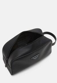 Emporio Armani - UNISEX - Wash bag - black - 2