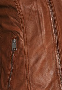 Freaky Nation - NEW TULA - Leather jacket - cognac - 5