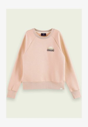 WITH VARIOUS ARTWORKS - Sweater - pink smoothie