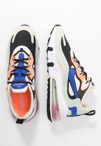 Nike Sportswear - AIR MAX 270 REACT - Sneakers laag - fossil/hyper blue/black/pistachio frost/fire pink/hyper crimson - 3