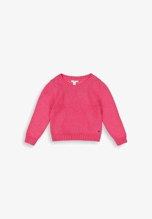 Pullover - dark pink