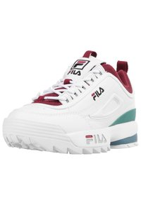 Fila - Trainers - white/green/bordeaux - 2
