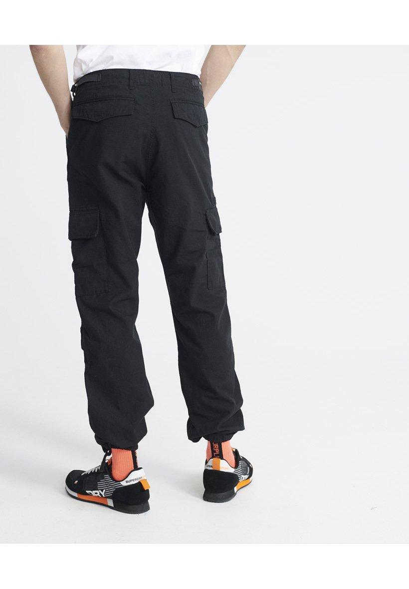 Superdry FIELD - Pantalon cargo - jet black